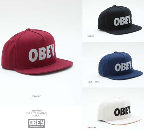 OBEY 2013 spring new arrivals !!!_b0172940_21213250.jpg