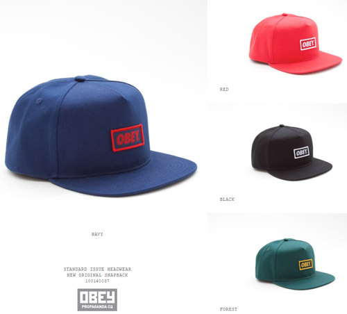 OBEY 2013 spring new arrivals !!!_b0172940_2123710.jpg