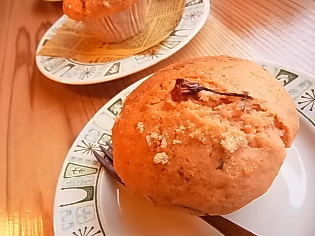 桜マフィン~♪_b0207642_172989.jpg