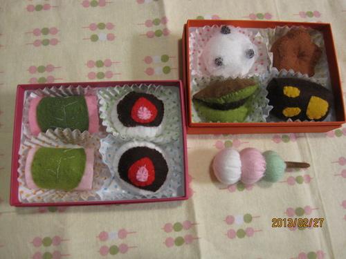 。・。・フェルトの和菓子・。・。_f0231042_16541757.jpg