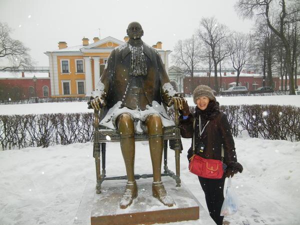 '13,3,1(金)サンクトペテルブルグに着いたよ~!_f0060461_11504549.jpg
