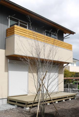 横割T邸竣工式、植栽もご入居前に完了_c0160488_1959322.jpg