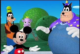 「ミッキーマウス クラブハウス あつまれ!まほうつかい」 ディズニー・チャンネルにて放送 _e0025035_21352332.jpg