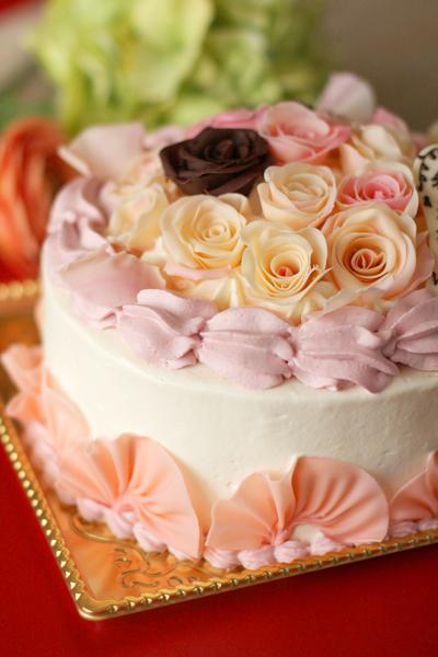 還暦お祝いのケーキ_f0149855_15474674.jpg