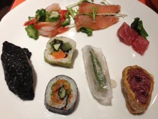 黒米のお寿司。_d0154957_16215210.jpg