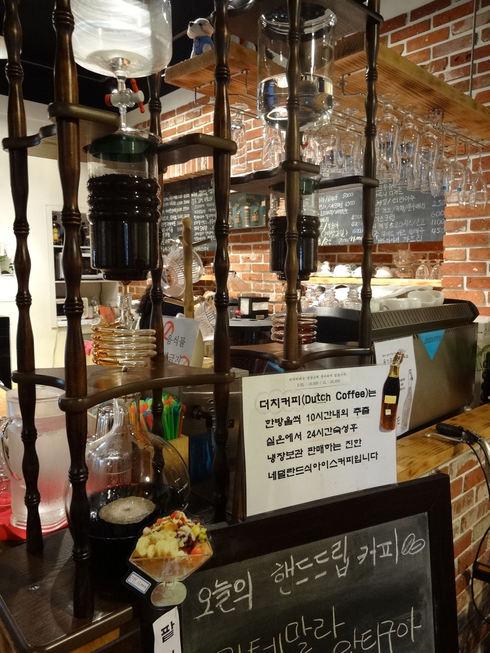 8月 ソウル旅行 その2 薬水駅 素敵カフェ「coffee a walk」_f0054260_1812033.jpg