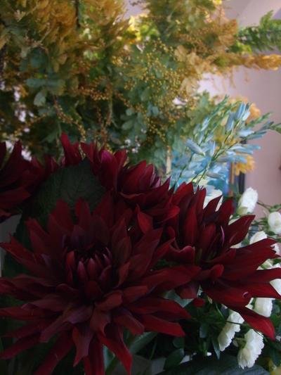 オークリーフ(赤い花)_f0049672_12223114.jpg