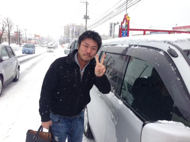 3月3日(日) S様エスティマご成約!阿部ちゃんブログ★ランクル ハマー レンタカー★_b0127002_2037137.jpg