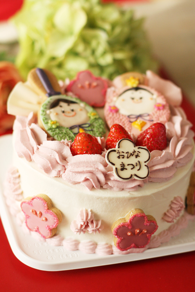 おひなさまのケーキ_f0149855_16312677.jpg