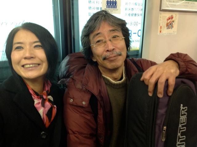 加藤さんと電車で帰る_d0244370_1293349.jpg