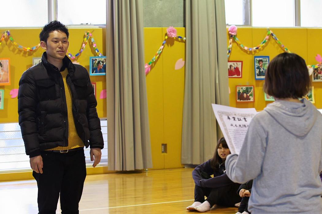 九代目柳的卒業式。_c0187584_2320274.jpg