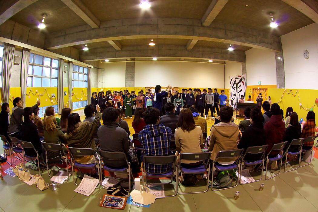 九代目柳的卒業式。_c0187584_2327524.jpg