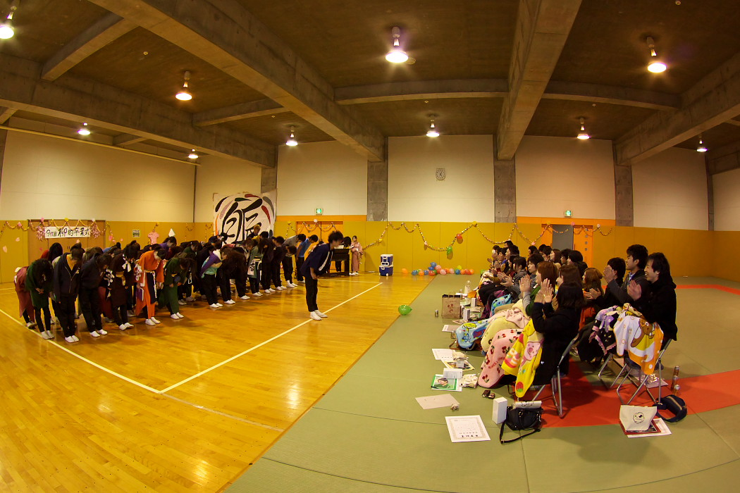 九代目柳的卒業式。_c0187584_233024100.jpg