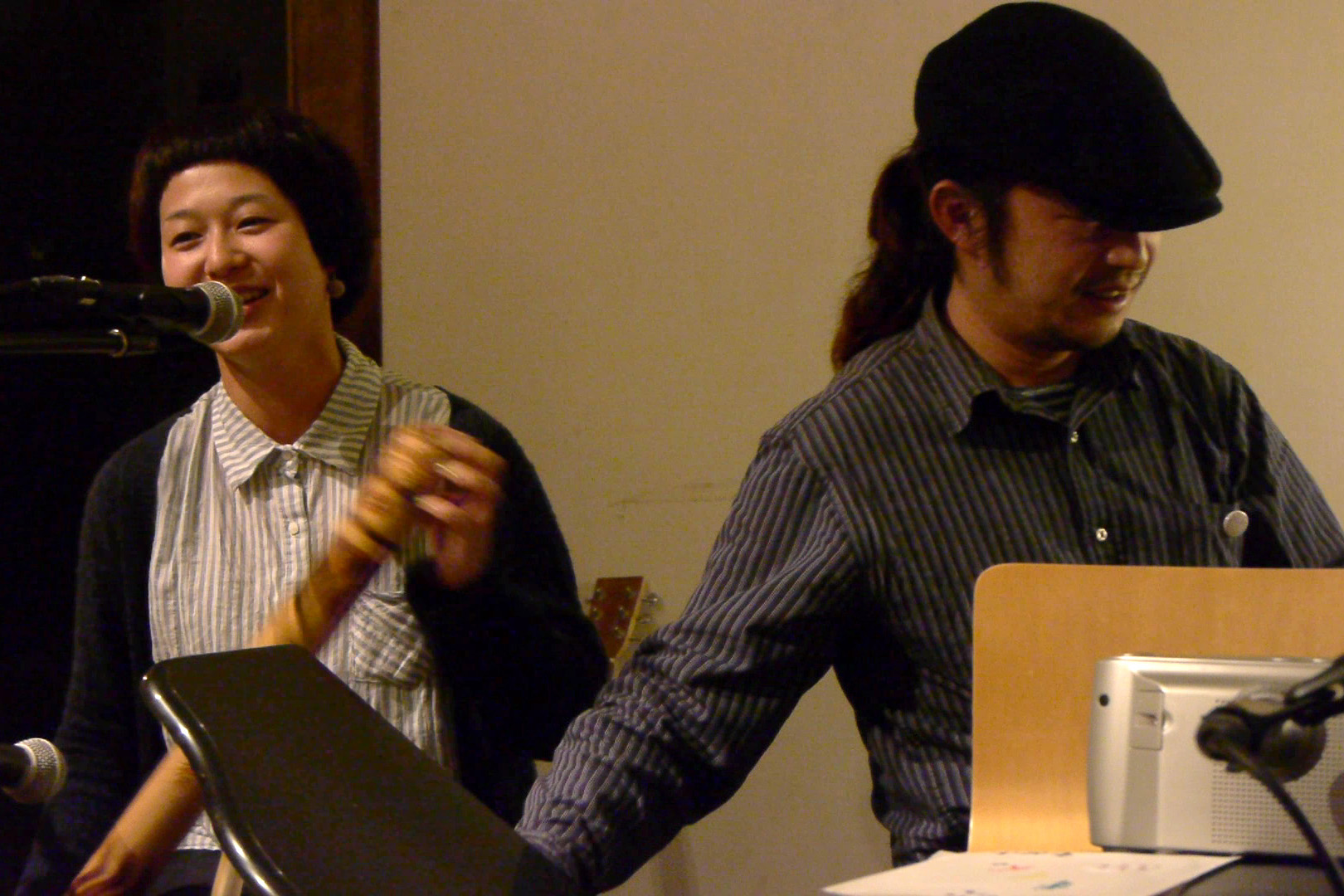 萬人音樂堂Presents レコ発ライブツアー in 沖縄 2012 OKINAWA HARMLESS @ 沖縄 Cafe & Dining Bar THREE_c0000587_19431060.jpg
