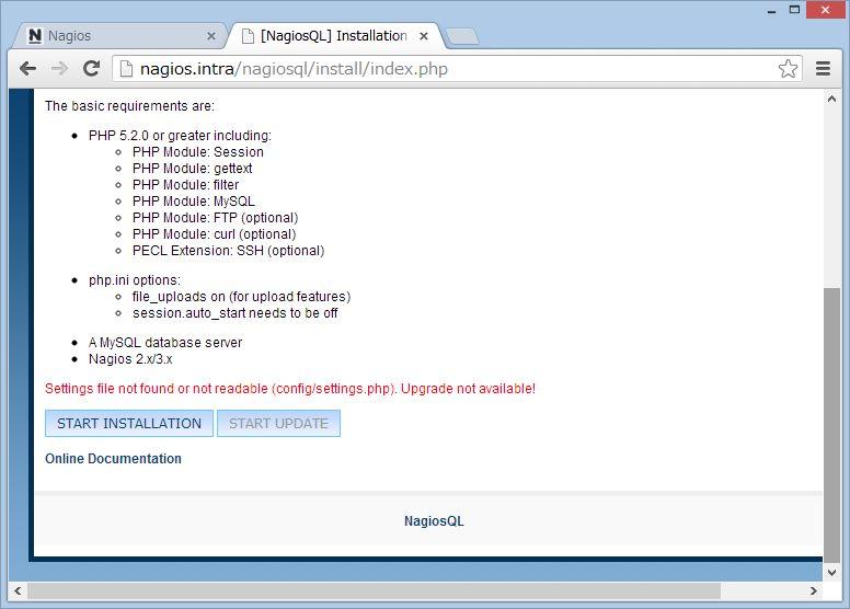 nagiosQL を SUSE Linux にインストール_a0056607_14266100.jpg