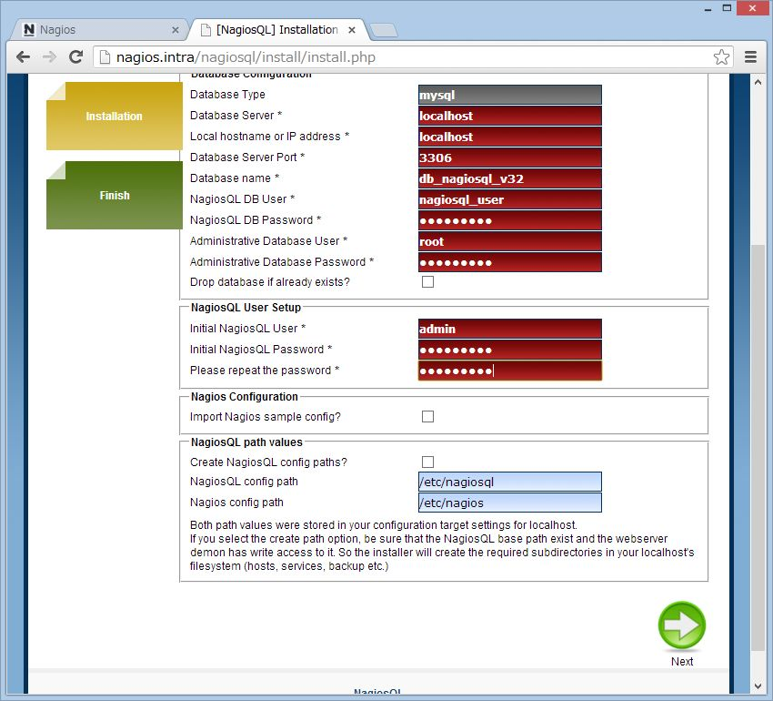 nagiosQL を SUSE Linux にインストール_a0056607_15325995.jpg