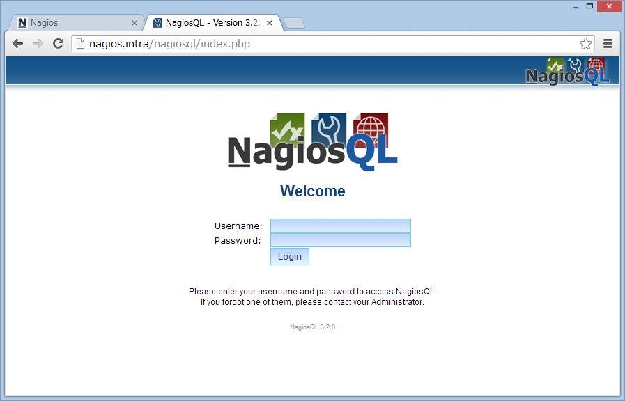 nagiosQL を SUSE Linux にインストール_a0056607_164847.jpg