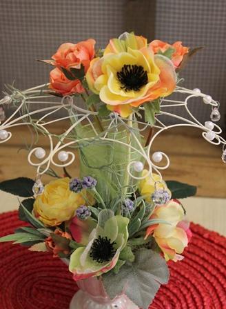 二月のレッスン グレースフラワー(光触媒の造花)_d0227610_17432426.jpg
