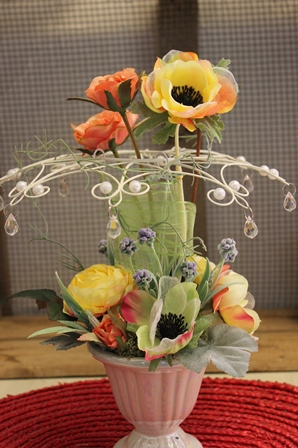 二月のレッスン グレースフラワー(光触媒の造花)_d0227610_17451419.jpg