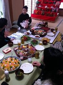 ダブルのお祝いで、花咲家春爛漫!!_e0110119_8595499.jpg