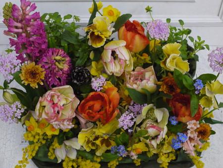 2月一会定期レッスン 庭園のアレンジ編_a0042928_2110359.jpg