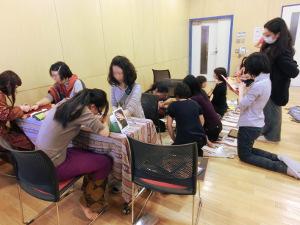 サリー体験&メヘンディ in 名古屋 行ってきました。_d0223445_22515125.jpg