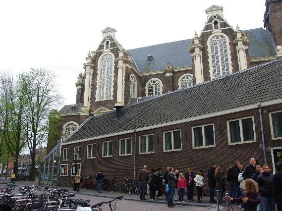 オランダの旅 (41) 【アムステルダム】 アンネ・フランクの家_c0011649_11454175.jpg
