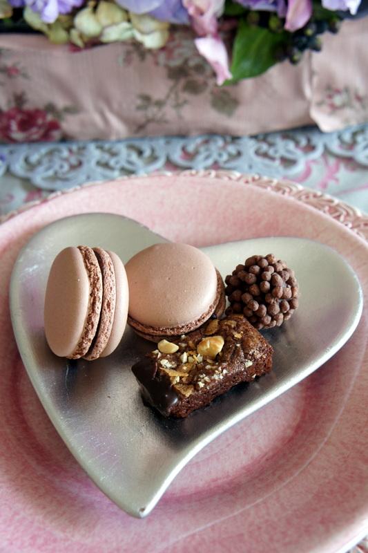 焼き菓子 ショコラ・カシスの試作・・♡ と かわいいハッピーターン_d0210450_16544244.jpg