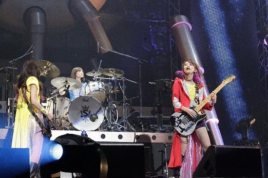 SCANDAL 夢の舞台・大阪城ホール公演に10,000人が熱狂!_e0197970_15415658.jpg