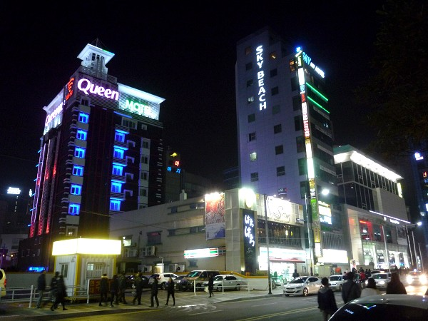 釜山 : カンジャンケジャン、ケナッチム、ラブホテル、ウナギ、ワッフル_e0152073_330208.jpg