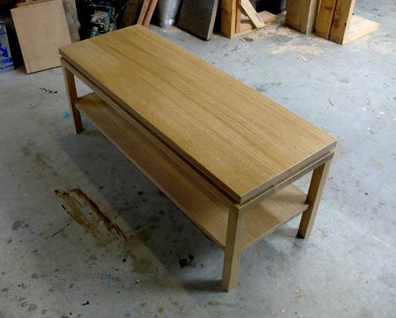 ナラのテーブル+ベンチ_f0171785_16124818.jpg