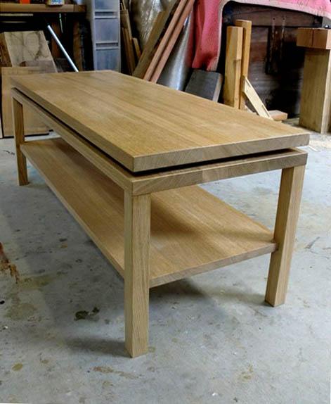 ナラのテーブル+ベンチ_f0171785_16134661.jpg