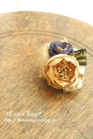 布花のコロン♪ブローチ & web shopにつきまして_a0169912_1919595.jpg