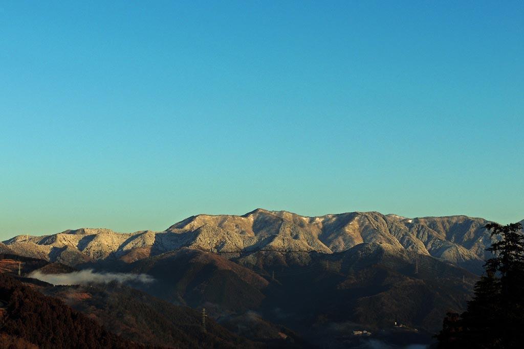 公園に初お目見えアカハラ/今日のMF/昨夜の降雪/夕焼け富士_b0024798_20281184.jpg