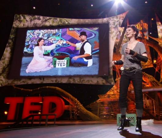 これからの音楽業界や社会の行方についてTEDの名スピーチ Amanda Palmer: The art of asking_b0007805_21321495.jpg