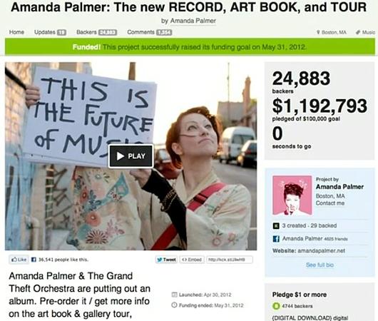 これからの音楽業界や社会の行方についてTEDの名スピーチ Amanda Palmer: The art of asking_b0007805_21325434.jpg