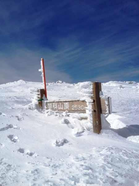 蓼科山の山頂から_c0177814_21385074.jpg