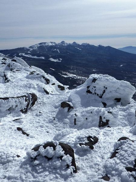 蓼科山の山頂から_c0177814_21392286.jpg