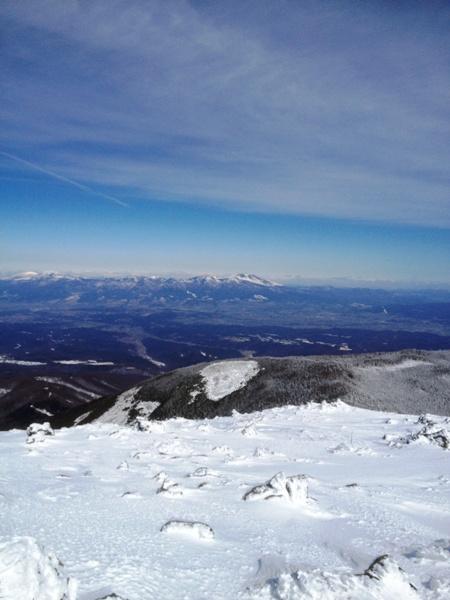 蓼科山の山頂から_c0177814_2140829.jpg