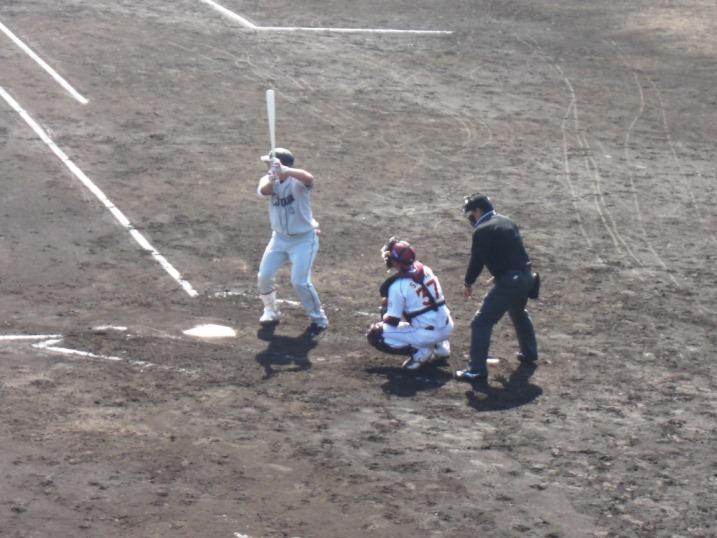 小春日和の野球観戦_b0081121_1910514.jpg
