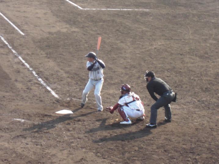 小春日和の野球観戦_b0081121_19125091.jpg