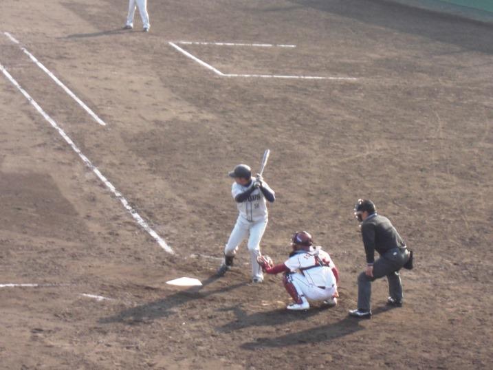 小春日和の野球観戦_b0081121_1913894.jpg