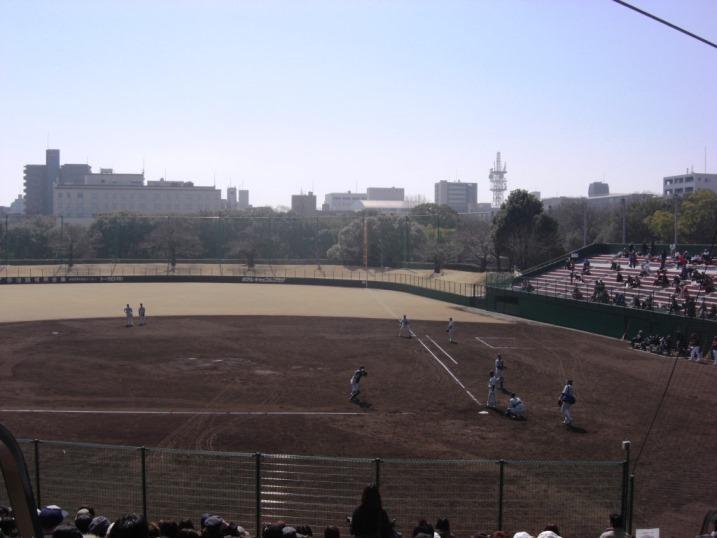 小春日和の野球観戦_b0081121_1951075.jpg