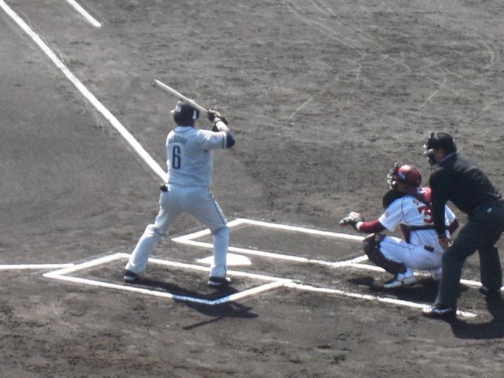 小春日和の野球観戦_b0081121_1982084.jpg