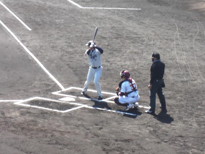 小春日和の野球観戦_b0081121_1982773.jpg