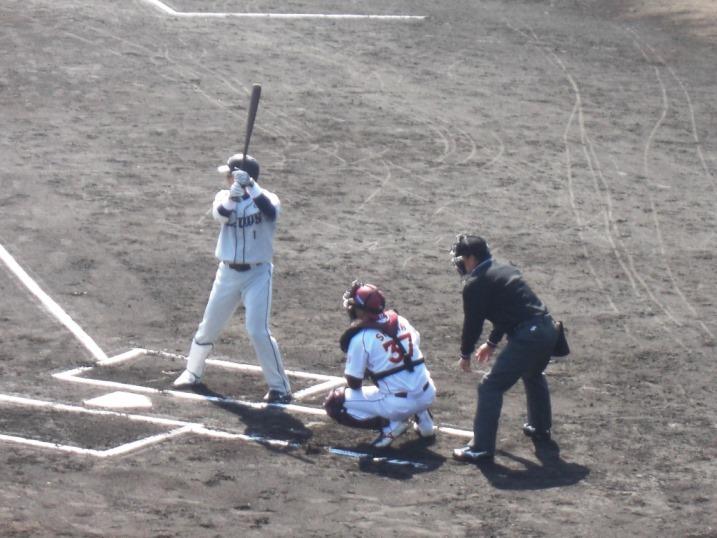 小春日和の野球観戦_b0081121_1983826.jpg