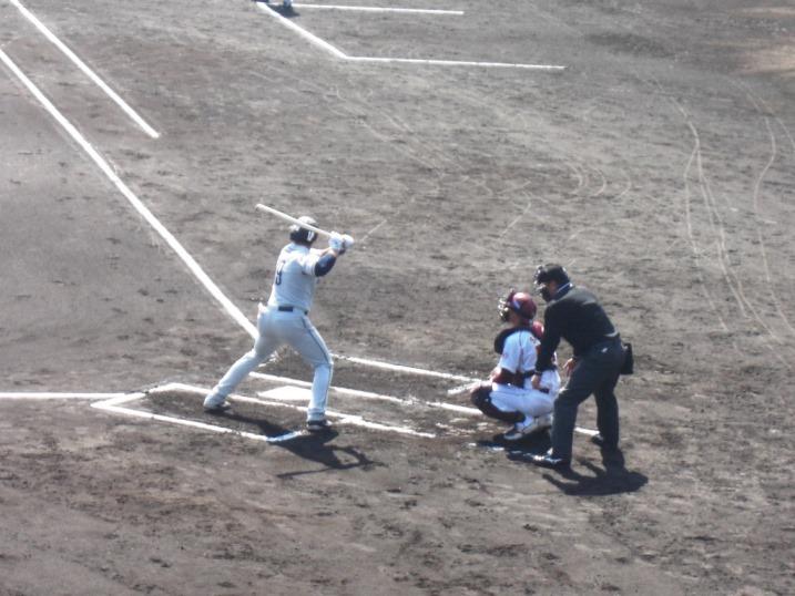 小春日和の野球観戦_b0081121_1985193.jpg