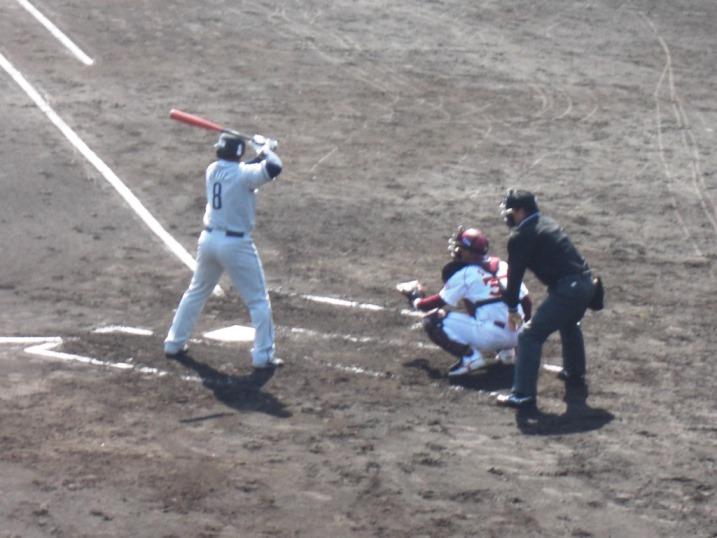 小春日和の野球観戦_b0081121_1991667.jpg