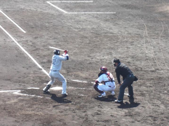 小春日和の野球観戦_b0081121_1992533.jpg