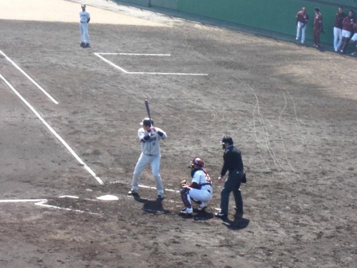 小春日和の野球観戦_b0081121_1993976.jpg